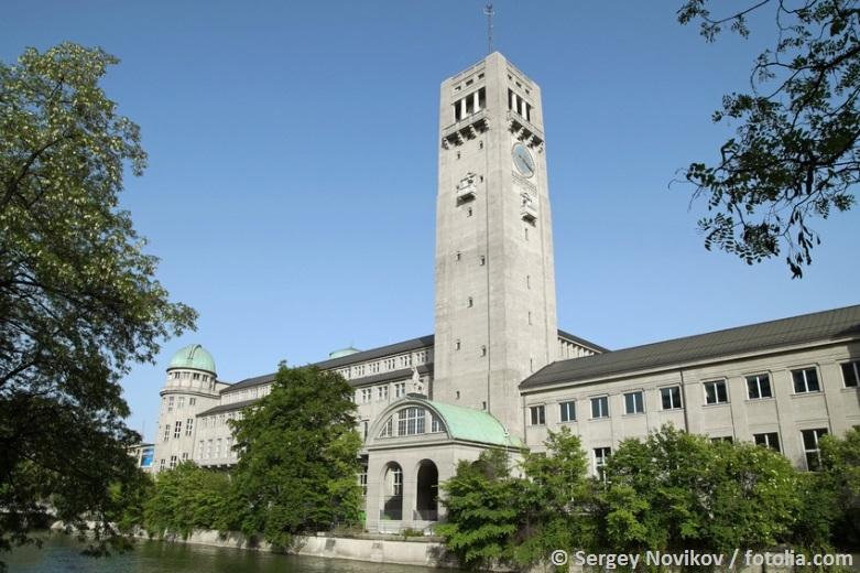 Das Deutsche Museum von Außen