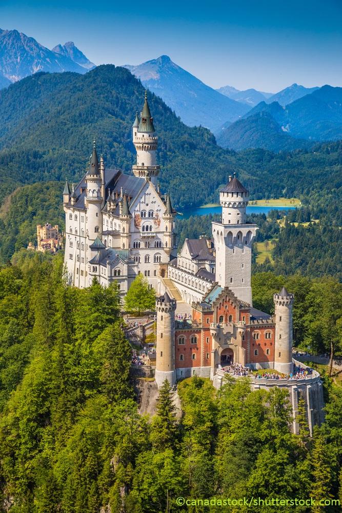 Schloss Neuschwanstein Front